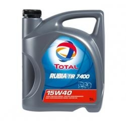 Total Rubia TIR7400 15W40 dieselmotorolie
