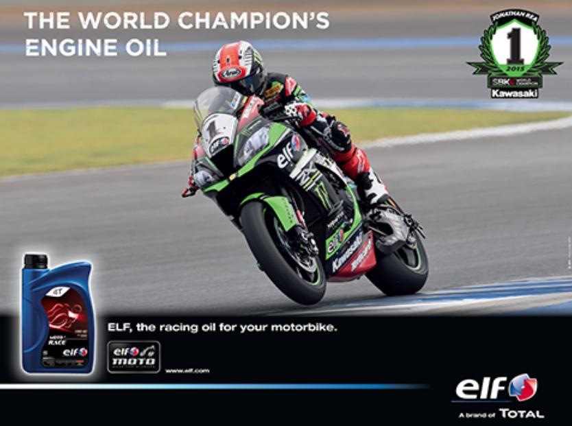 ELF motorbike oil